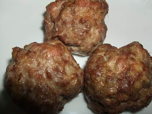 Baked Appetizer Meatballs