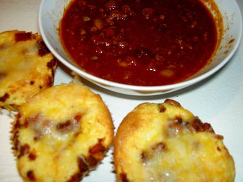 Fried Corn Fritters Served with Salsa