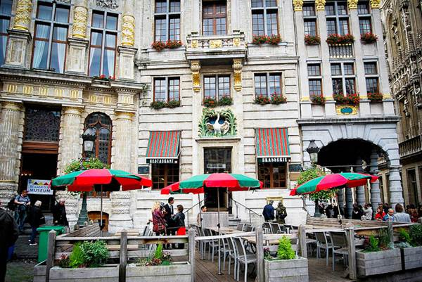 Restaurant Near Grande Place, Brussels, Belgium