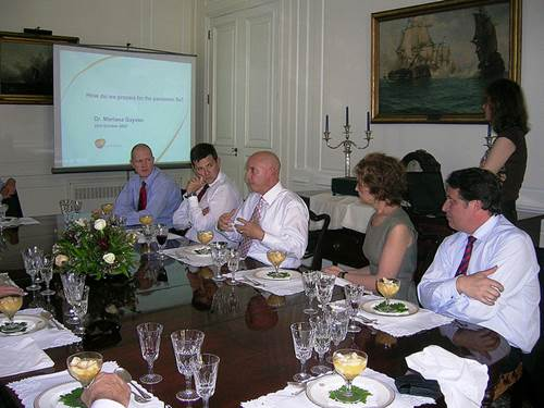 A British Business Group Lunch
