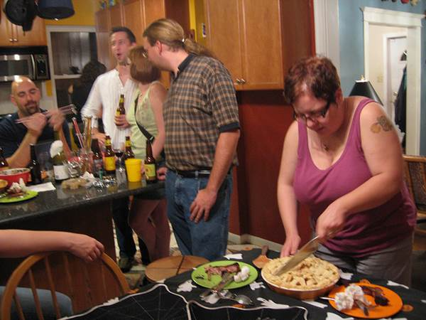 A Kitchen Full of Friends